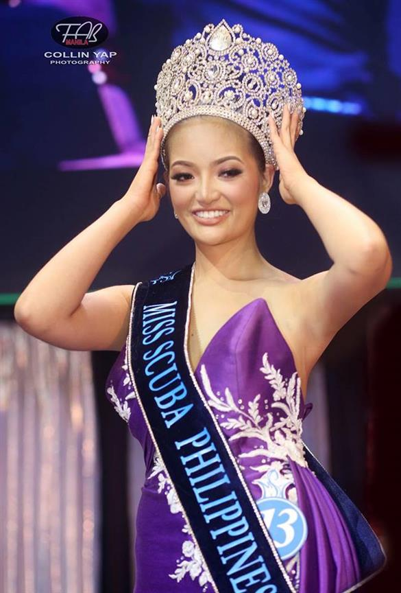Miss Scuba Philippines 2018 Noelle Fuentes Uy-Tuazon: The newly crowned Filipina Ocean Goddess
