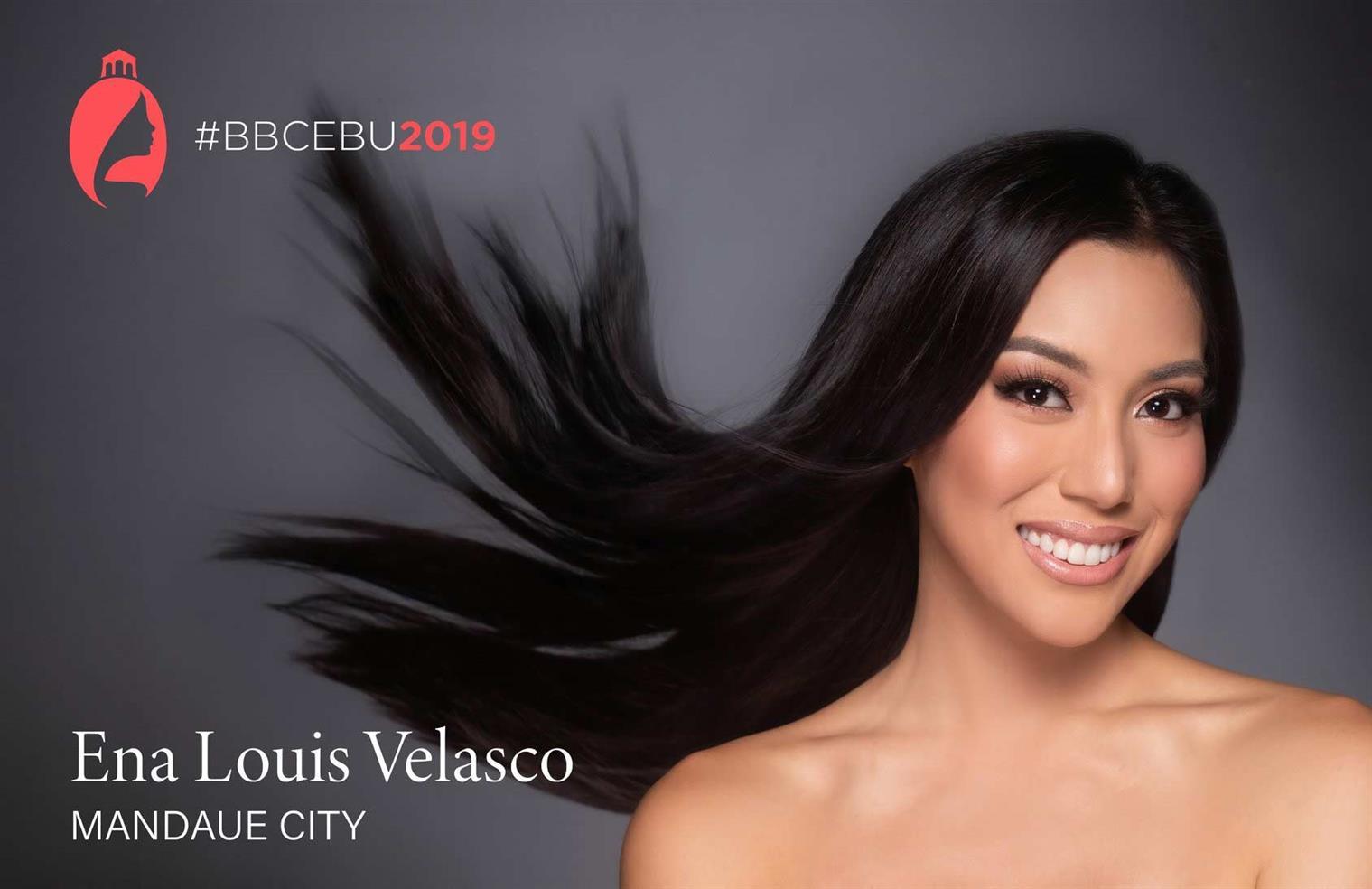 Ena Louis Velasco representing Mandaue City