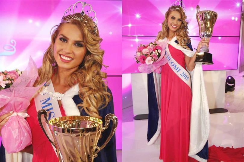 Miss Suomi 2015 winner Rosa Maria Ryyti