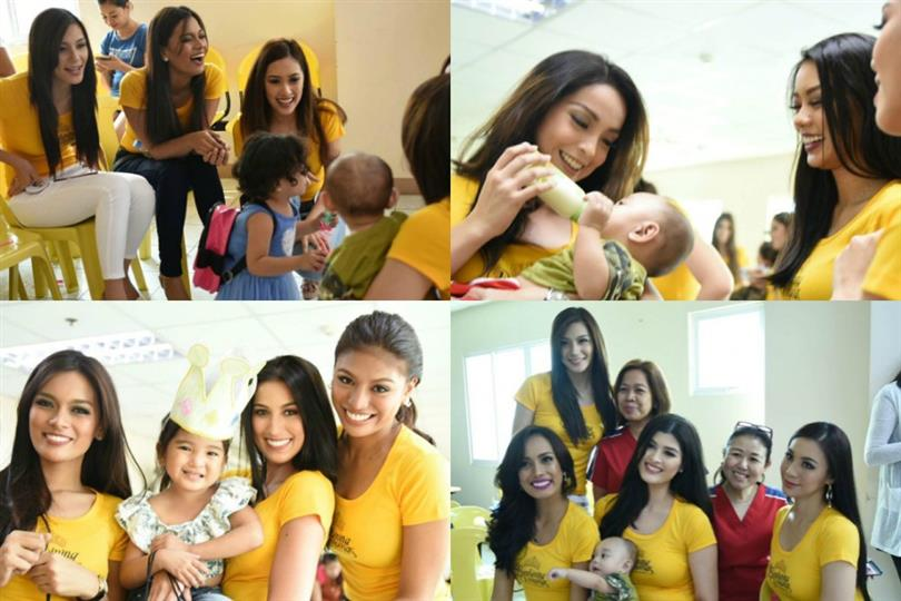 Bb Pilipinas 2017 contestants visit Sta. Ana Hospital