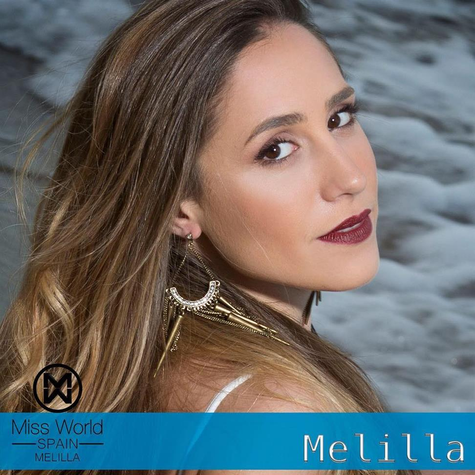 Paula Pozo from Melilla for Miss World Spain 2018