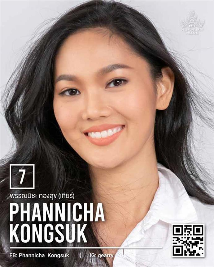 Pre-preliminary Top 20 favourites for Miss Universe Thailand 2019