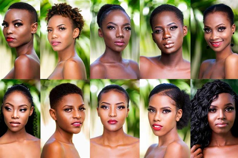 Miss Universe Tanzania 2019 Meet the Contestants