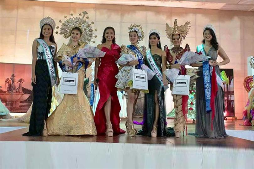 Miss Scuba Philippines 2018 Cultural Costume and Evening Gown Competition Results