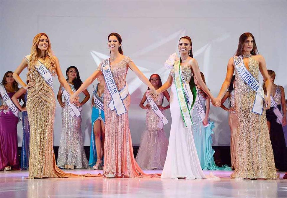 Laura Osorio Hoyos crowned Miss Mundo Colombia 2018