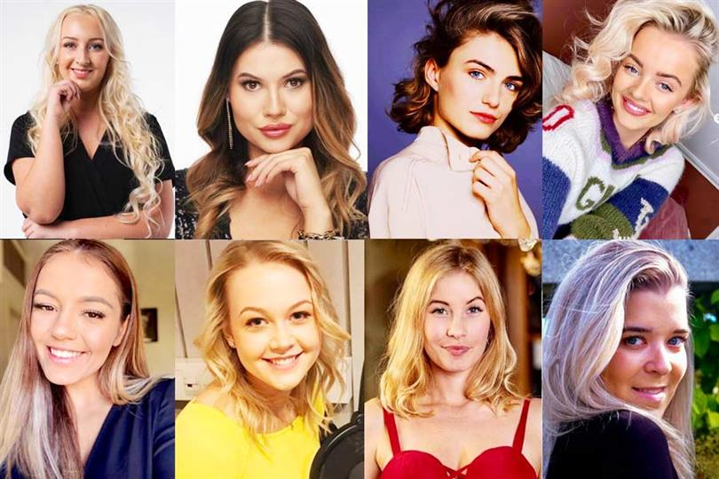 Miss Universe Norway 2020 Meet the Top 16 Finalists