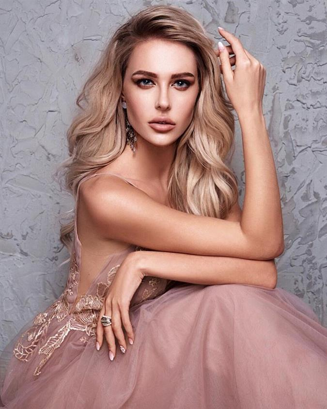 Karina Zhosan Miss Universe Ukraine 2018, our favourite for Miss Universe 2018