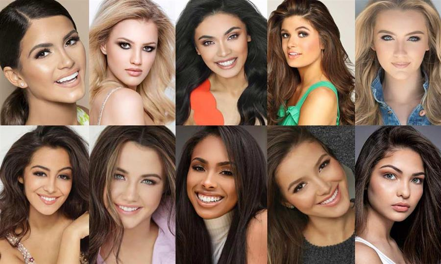 Miss Teen USA 2019 Top 20 Hot Picks by Angelopedia