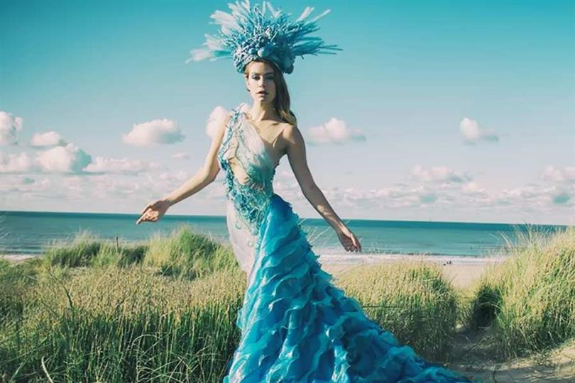 Netherlands' Sharon Pieksma goes ecological with National Costume for Miss Universe 2019