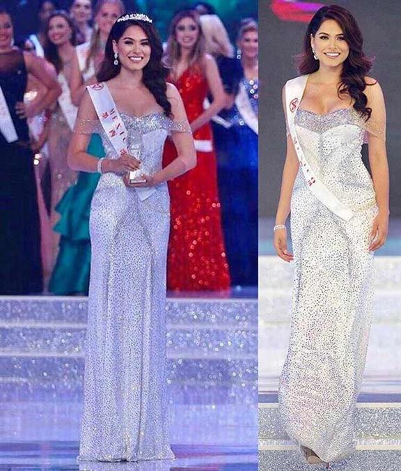 Andrea Meza winner Miss World Mexico 2017