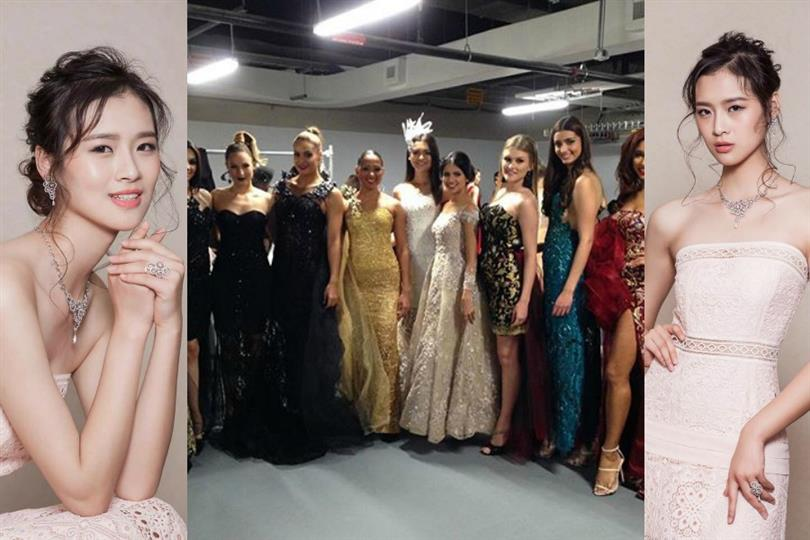 Jing Kong of China wins Miss World 2016 Top Model Contest
