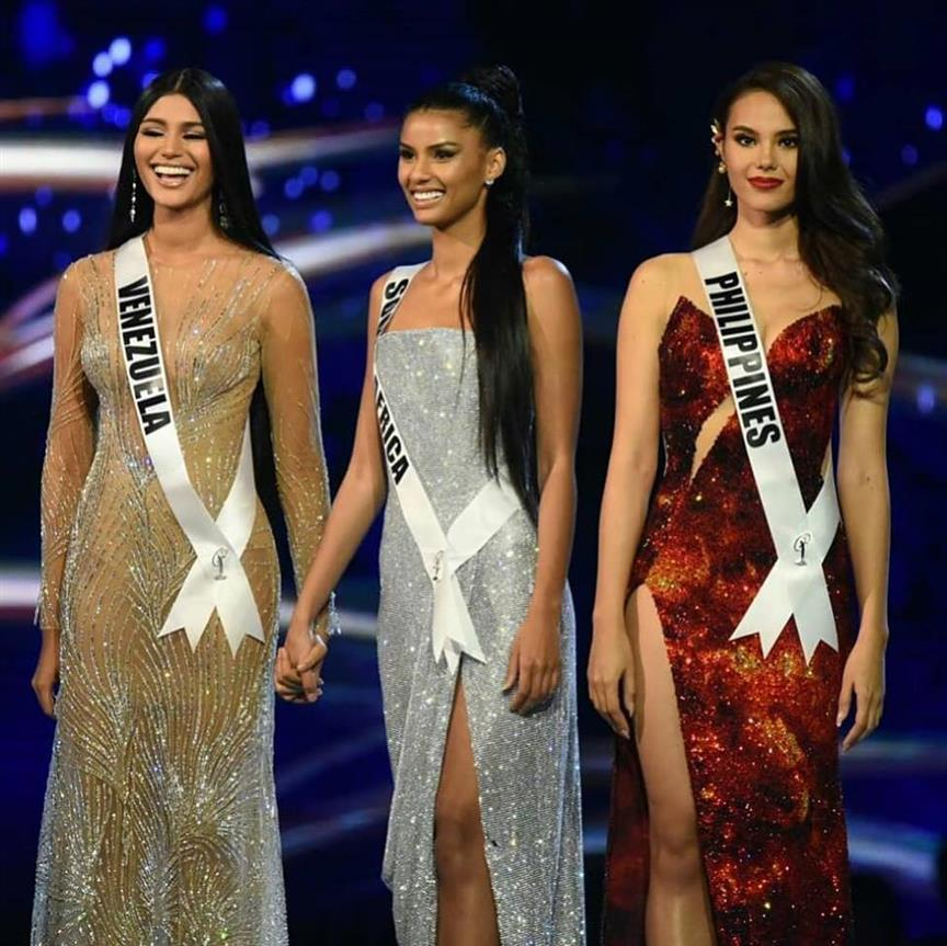 Miss Universe 2018 Top 3 Question and Answer round