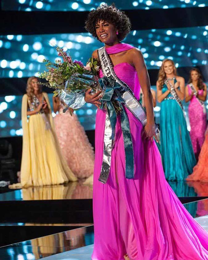 Kaliegh Garris of Connecticut crowned Miss Teen USA 2019