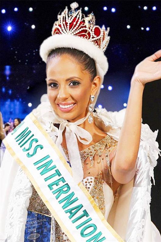 Valerie Hernandez from Puerto Rico was crowned Miss International 2014