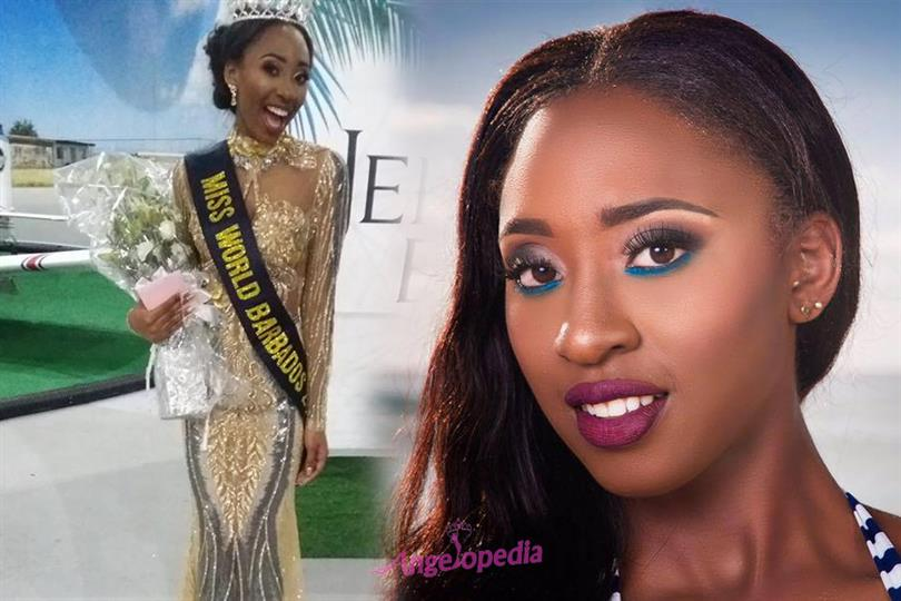 Ashley Lashley crowned Miss Barbados World 2018