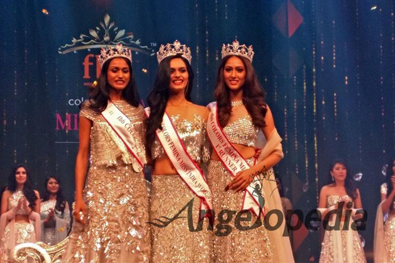 Manushi Chhillar crowned as Femina Miss India 2017