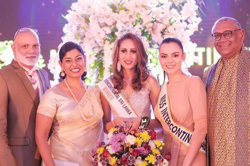 Twinkle Goonethilleke crowned Miss Intercontinental Sri Lanka 2019