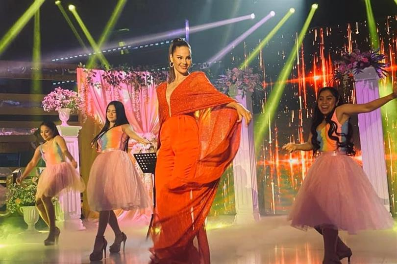 Miss Universe 2018 Catriona Gray is now a host!