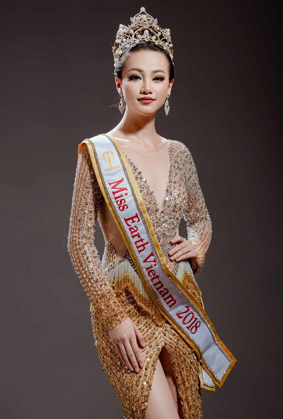 Nguy?n Phuong Khánh was crowned Miss Earth 2018