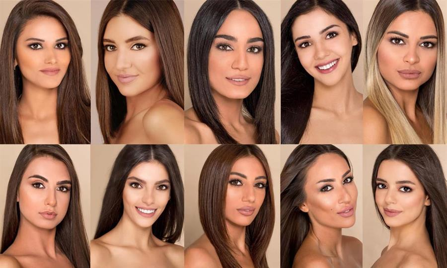 Miss Lebanon 2018 Meet the Contestants