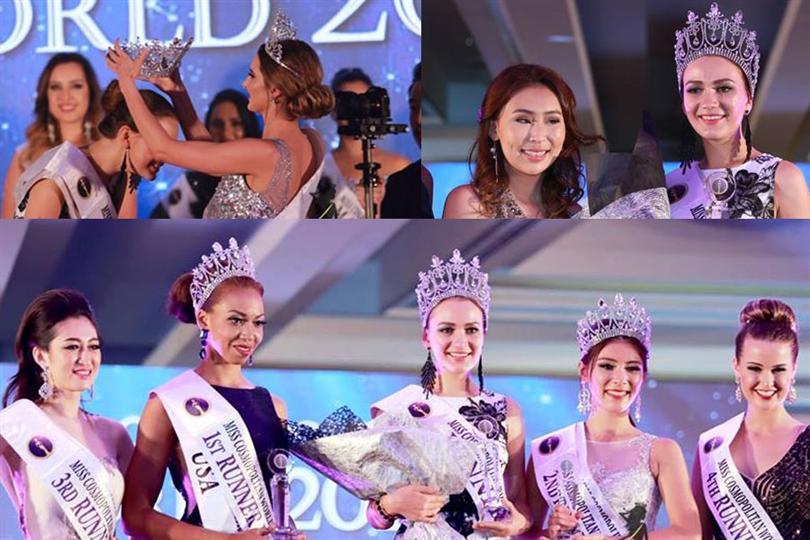 Miss Cosmopolitan World 2016 title claimed by beautiful Veronika Markova