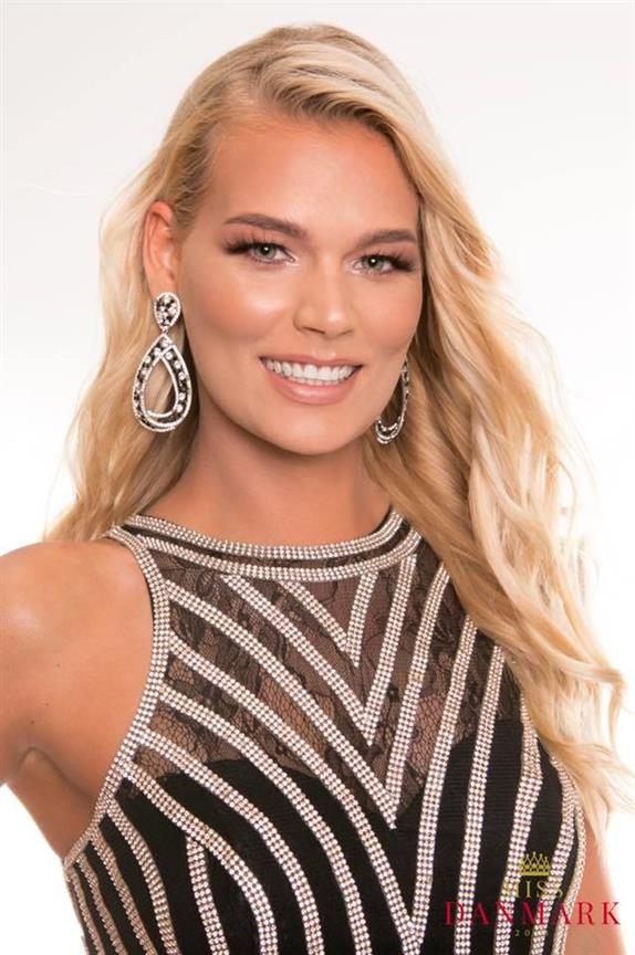 Louise Sander Henriksen crowned Miss World Denmark 2018