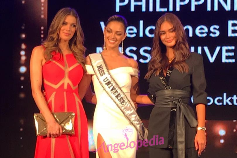 Welcome dinner for Demi-Leigh, Iris, Pia and Miss Universe 2017 contestants