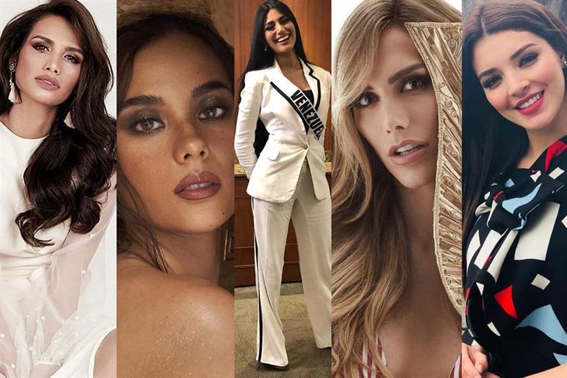 Miss Universe 2018 Top 10 Hot Picks Social Media
