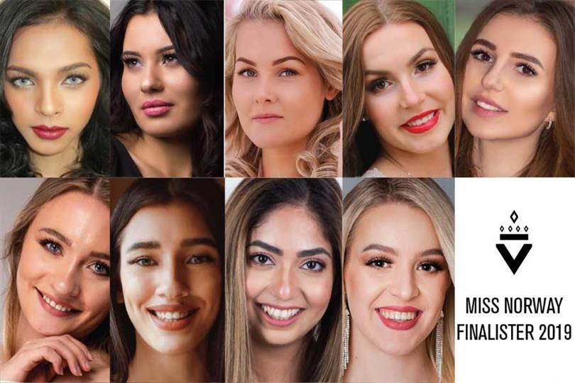 Miss Norway 2019 Meet the Finalists