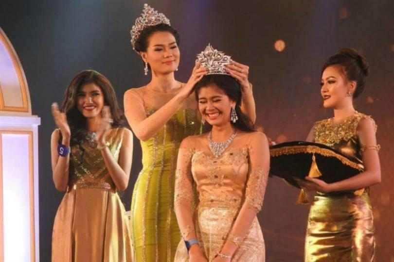 Miss Myanmar World 2016 is Myat Thiri Lwin