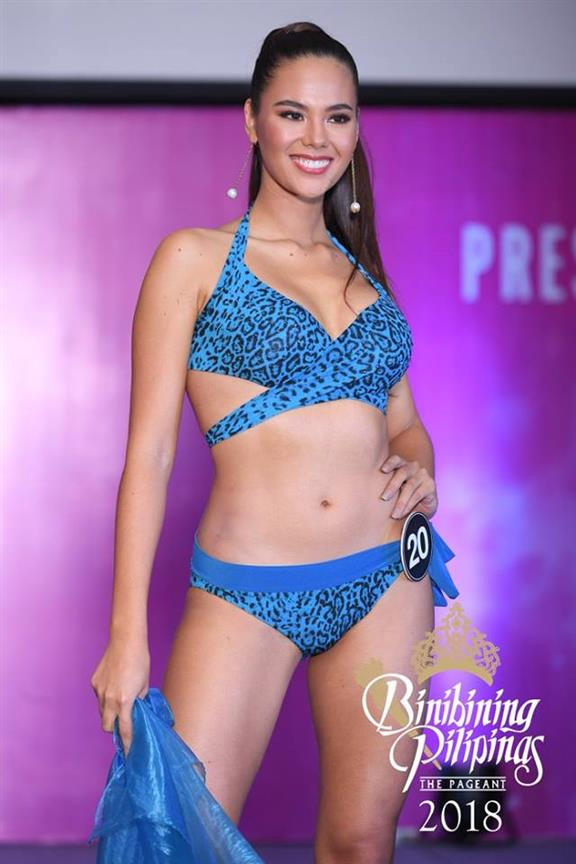 Who stood out at the Binibining Pilipinas 2018 Press Presentation?