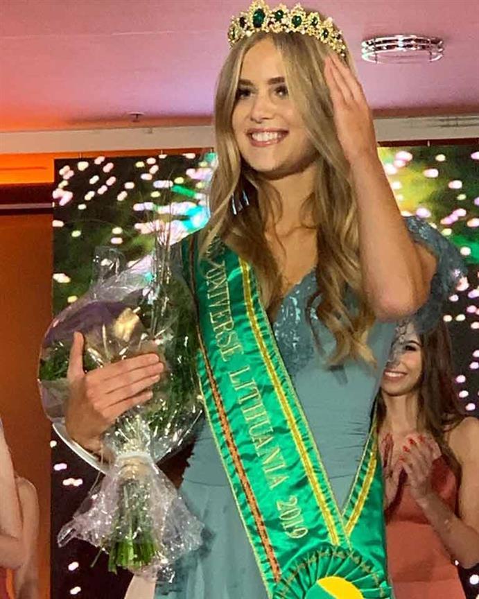 Paulita Baltrusaityté crowned Miss Universe Lithuania 2019