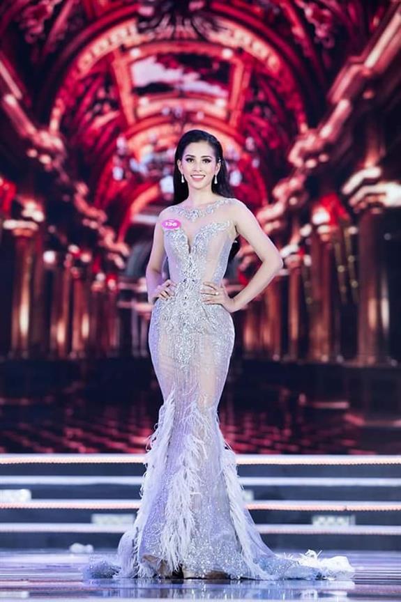 Tr?n Ti?u Vy crowned Miss World Vietnam 2018