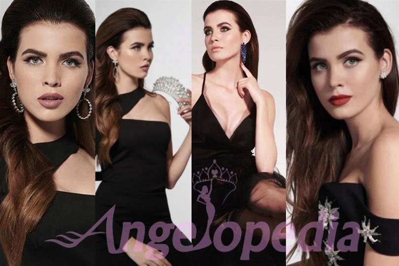 Alena Spodynyuk of Ukraine wants to be the Miss Universe 2016 titleholder