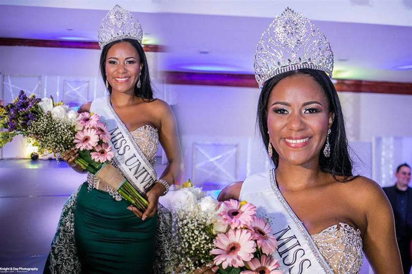 Jenelli Fraser crowned Miss Universe Belize 2018