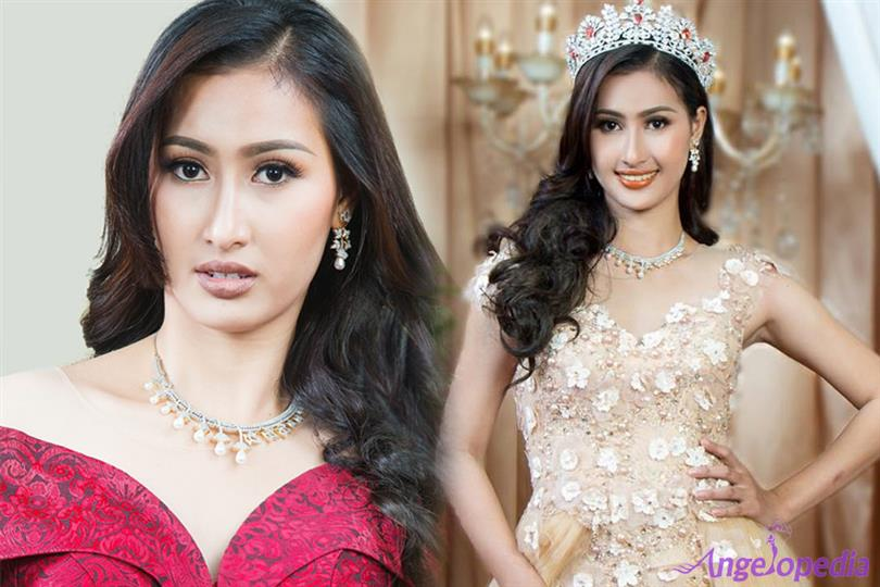 Khloem Sreykea as Miss Grand Cambodia, our favourite for Miss Grand International 2017