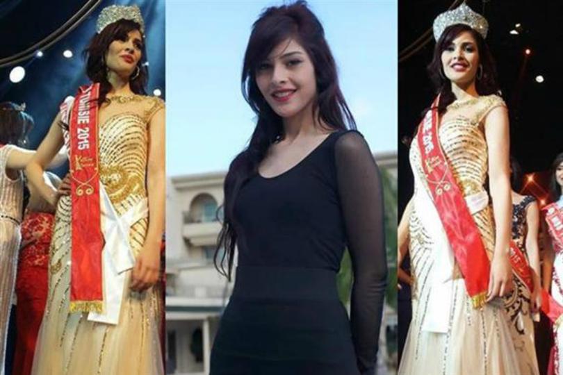 Rawia Djbeli crowned Miss Tunisie 2015