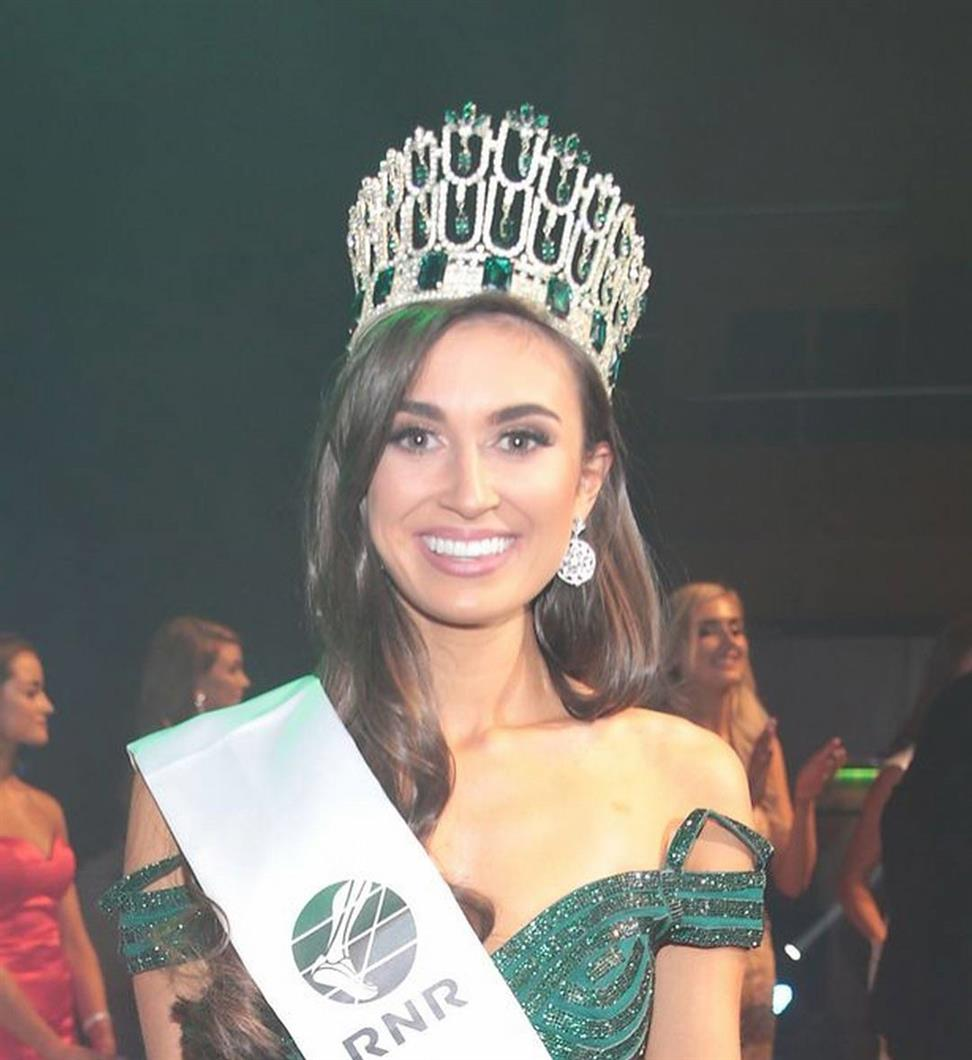 Aoife O'Sullivan crowned Miss World Ireland 2018