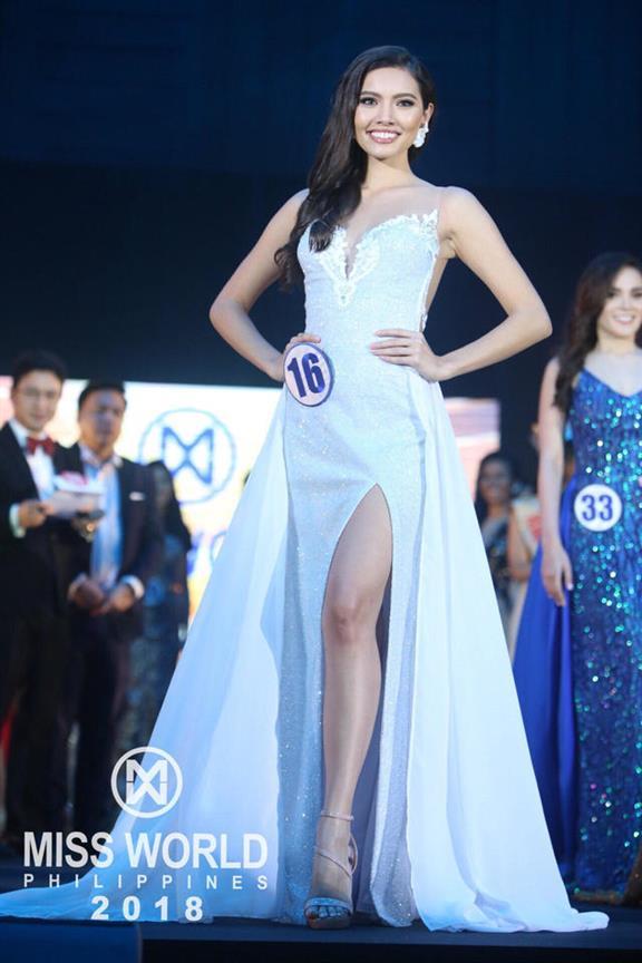 Maureen Montagne Miss World Philippines 2018 First Runner Up