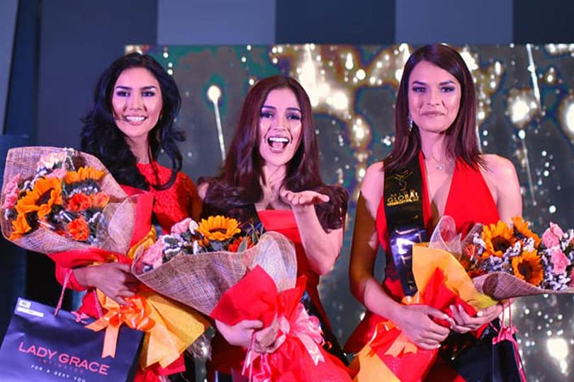 Eileen Gonzales of Philippines wins Darling of the Press award at Miss Global 2018 Press Presentation
