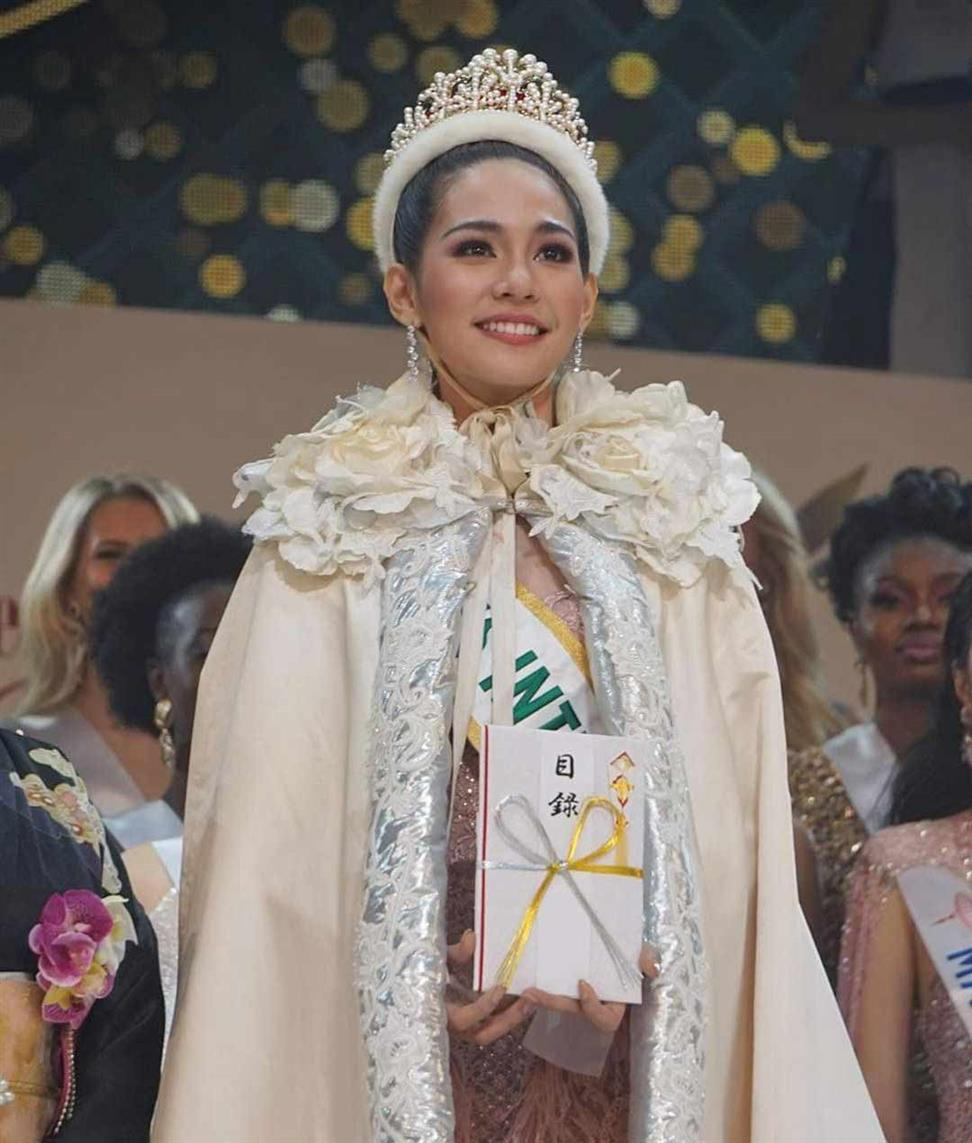 Sireethorn Leearamwat of Thailand crowned Miss International 2019
