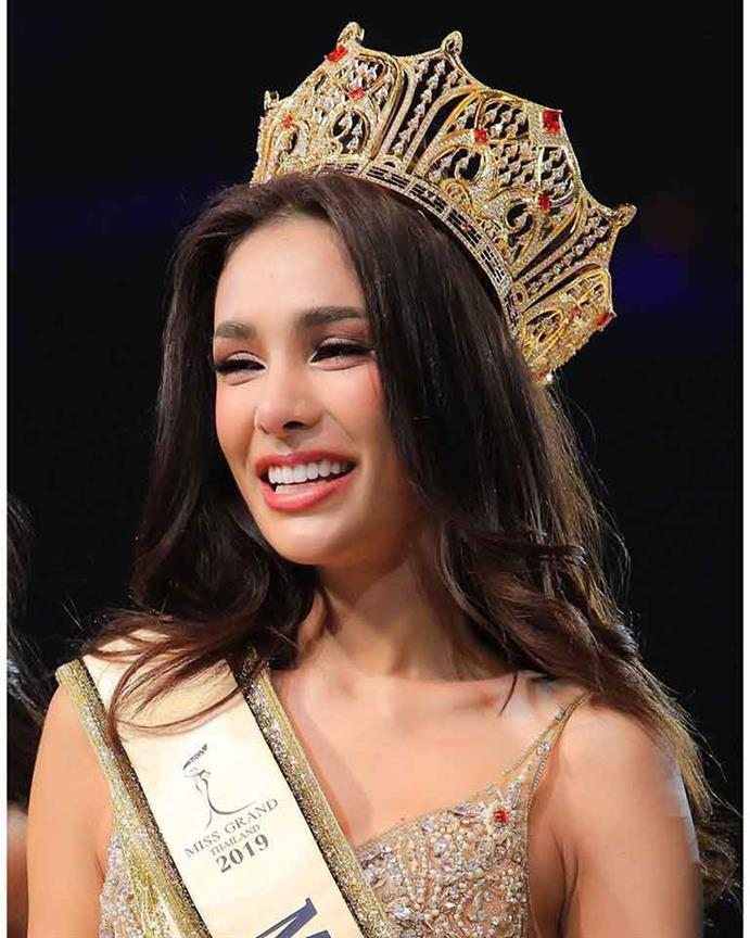 Arayha Suparurk crowned Miss Grand Thailand 2019