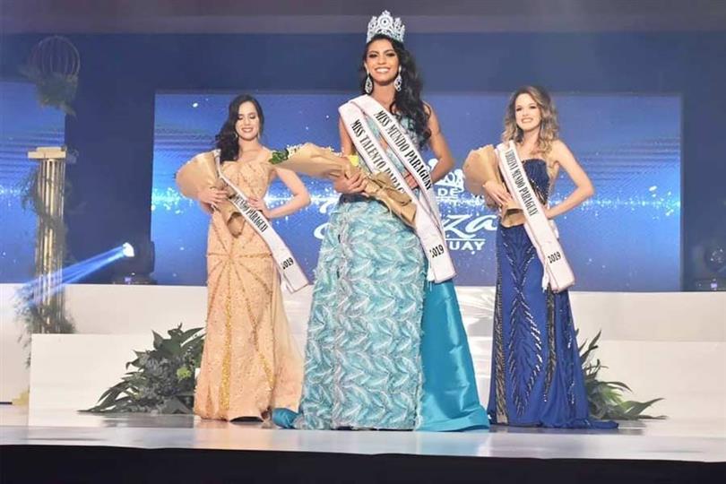 Araceli Bobadilla crowned Miss Mundo Paraguay 2019