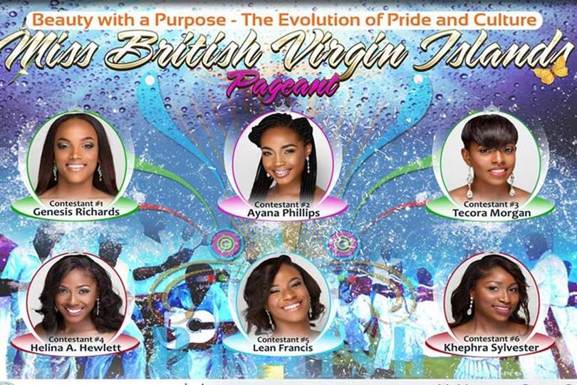 Miss British Virgin Islands 217- Meet the contestants