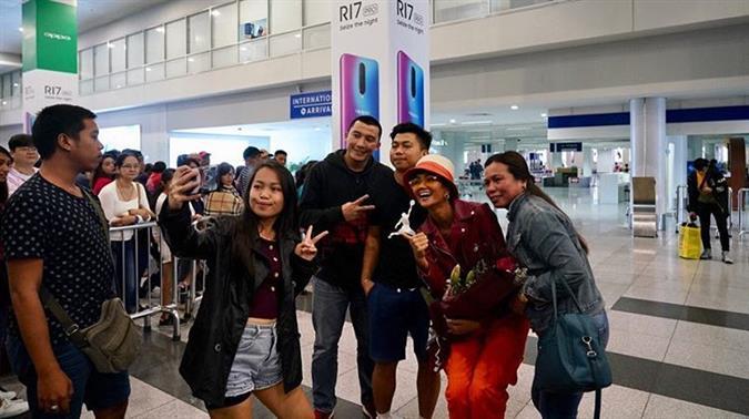 Miss Universe Vietnam 2018 H'Hen Niê visits Manila, Philippines