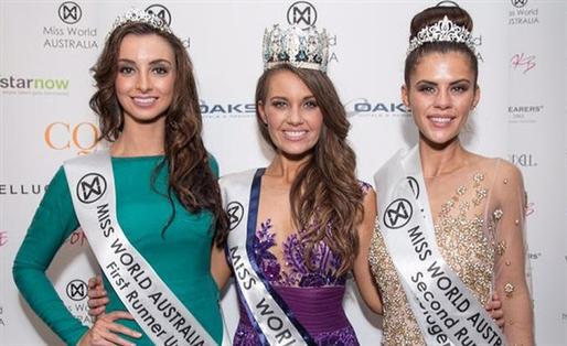 Miss World Australia 2014 Winners