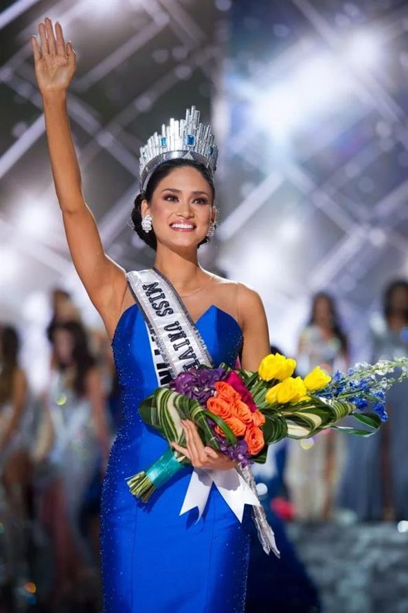Pia Wurtzbach Miss Universe 2015