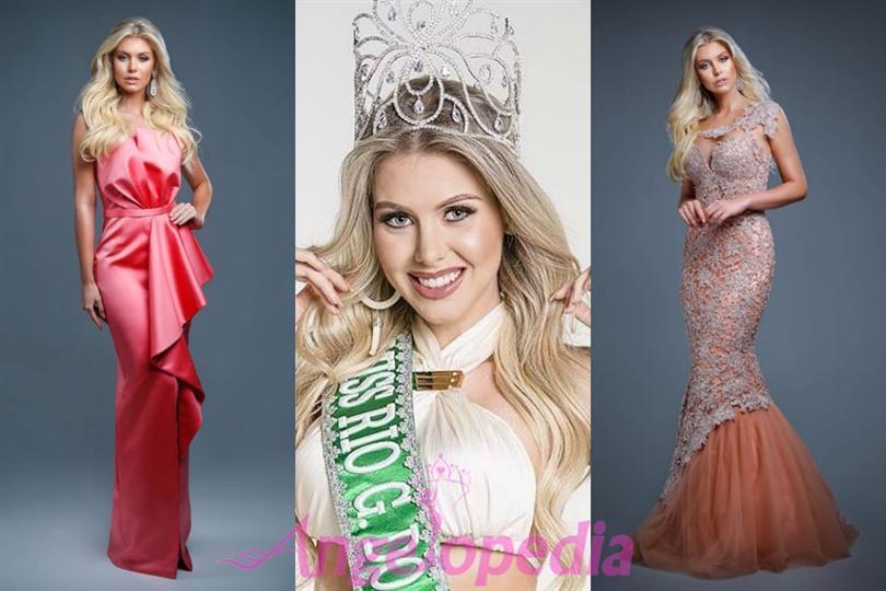Manoela Alves crowned as Miss International Brazil 2016