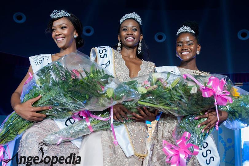 Miss Botswana 2017 Winner Nicole Gaalebale