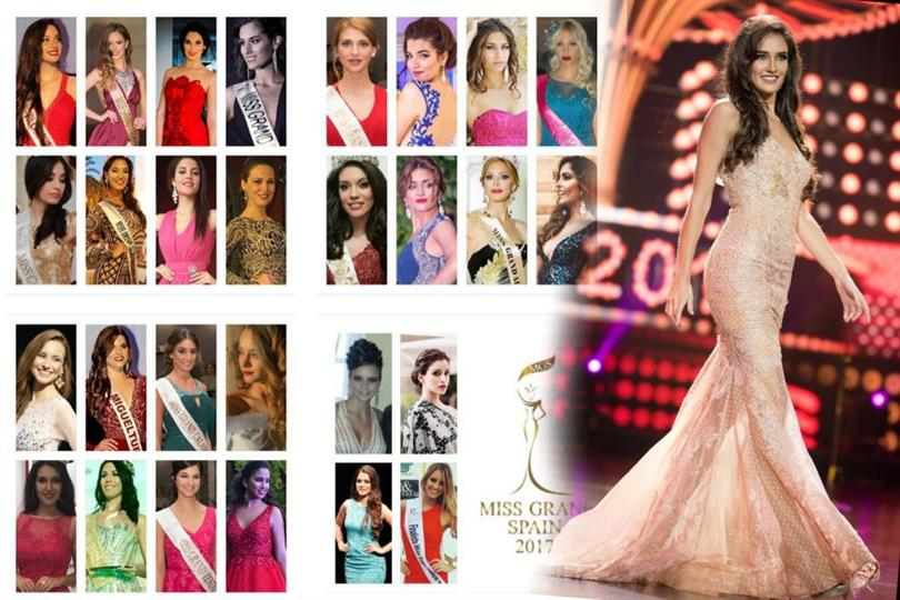 Miss Grand Spain - Meet the Contestants
